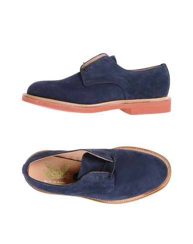 MARK MCNAIRY Laced shoes Dark blue Men
