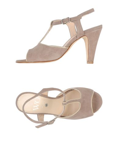 WO MILANO Sandals in Grey