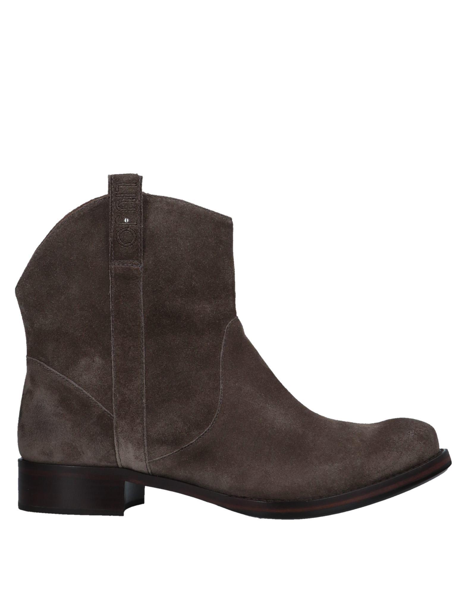 Bottine Liu •Jo Shoes Femme - Bottines Liu •Jo Shoes Kaki Remise de marque