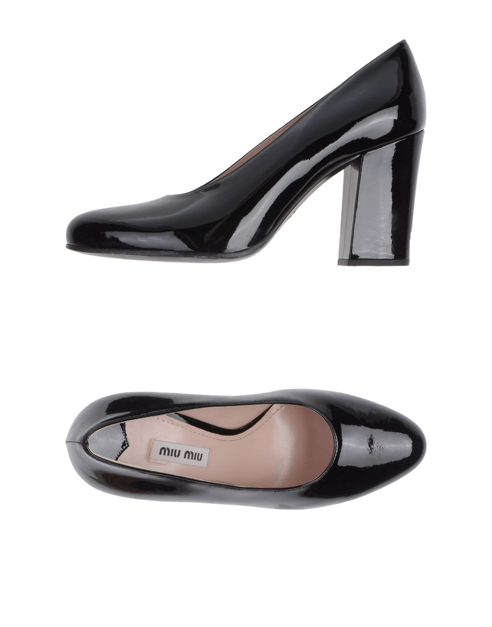 Escarpins Miu Miu Femme - Escarpins Miu Miu Noir Dernières chaussures discount pour hommes et femmes