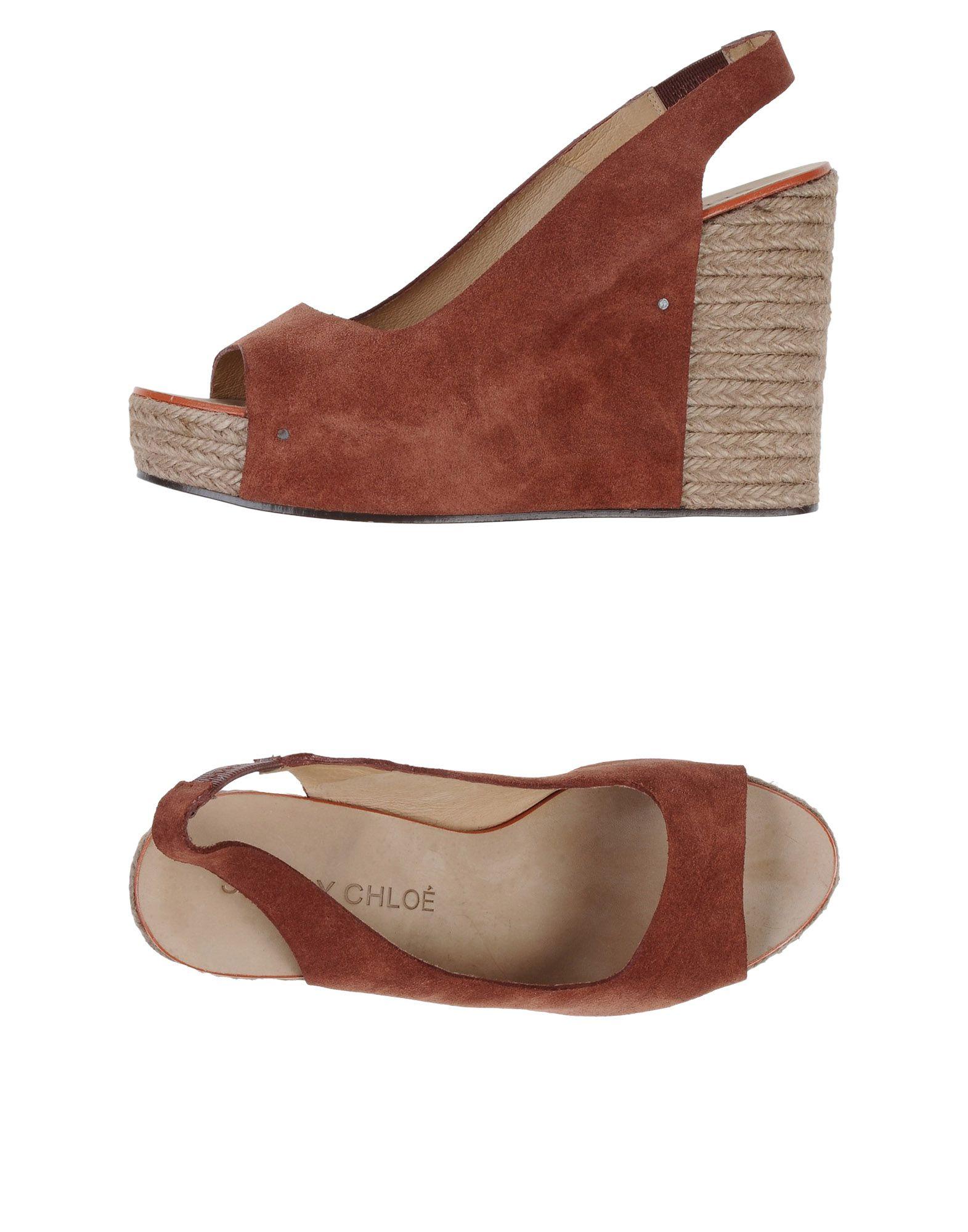 Stilvolle billige Schuhe See By 44718358RJ Chloé Espadrilles Damen  44718358RJ By 1282eb