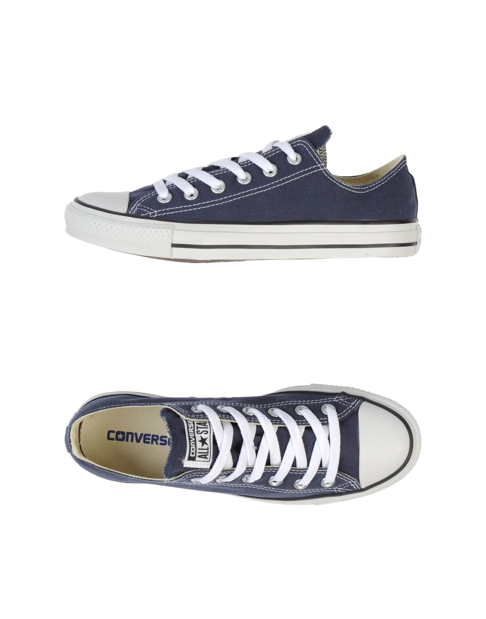 Baskets Converse All Star All Star Hi-Ox - Homme - Baskets Converse All Star  Bleu foncé Chaussures casual sauvages