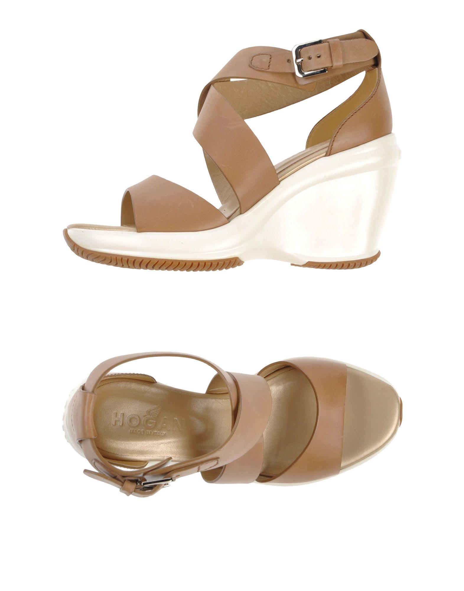 Stilvolle billige Schuhe Hogan Sandalen Damen  44754345AE