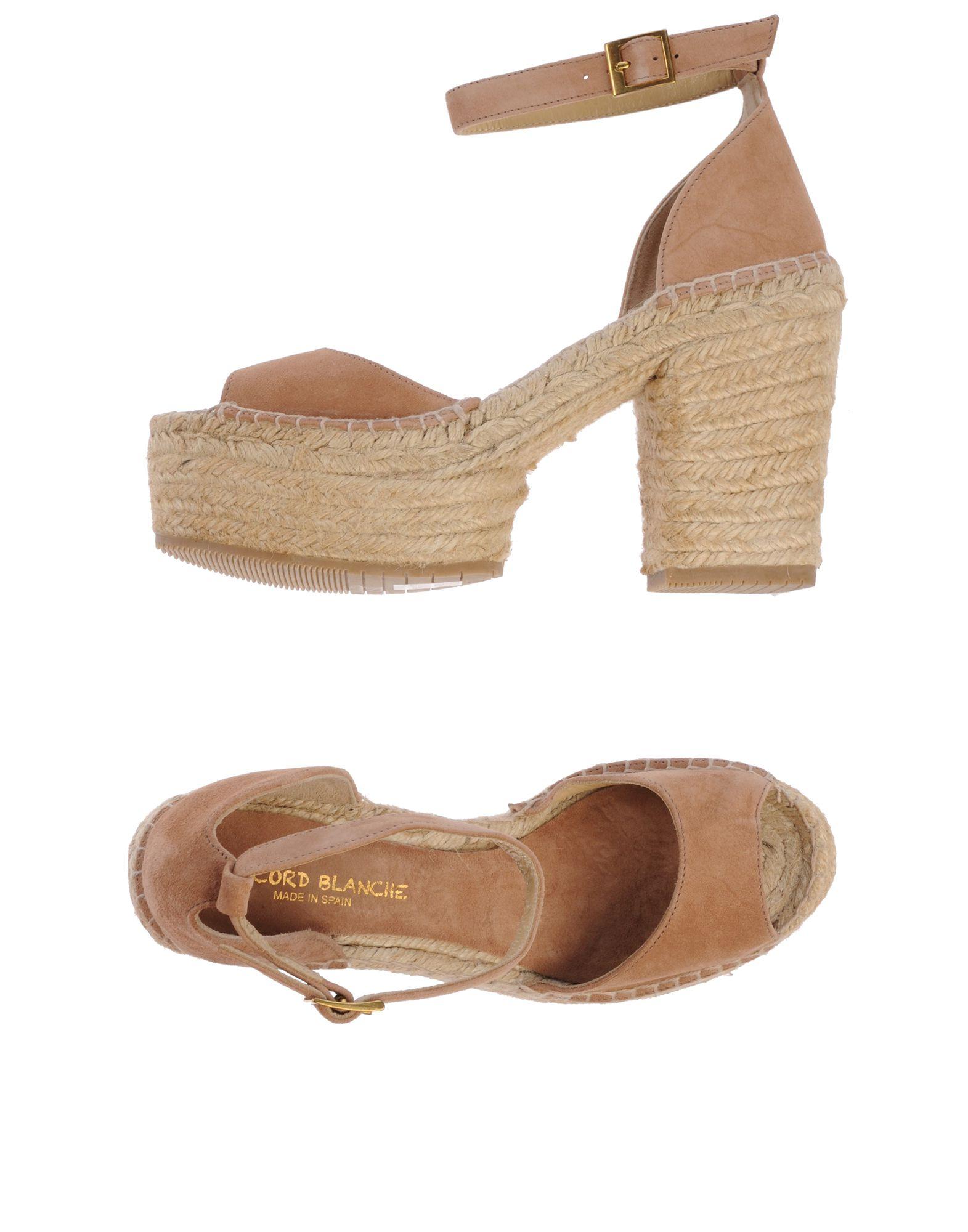 Gut Blanche um billige Schuhe zu tragenLa Corde Blanche Gut Espadrilles Damen  44760216SV f07224