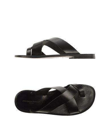 Zapatos con descuento Sandalias De Dedo L'artigiano Del Cuoio Dedo Hombre - Sandalias De Dedo Cuoio L'artigiano Del Cuoio - 44770417VE Negro 44f034