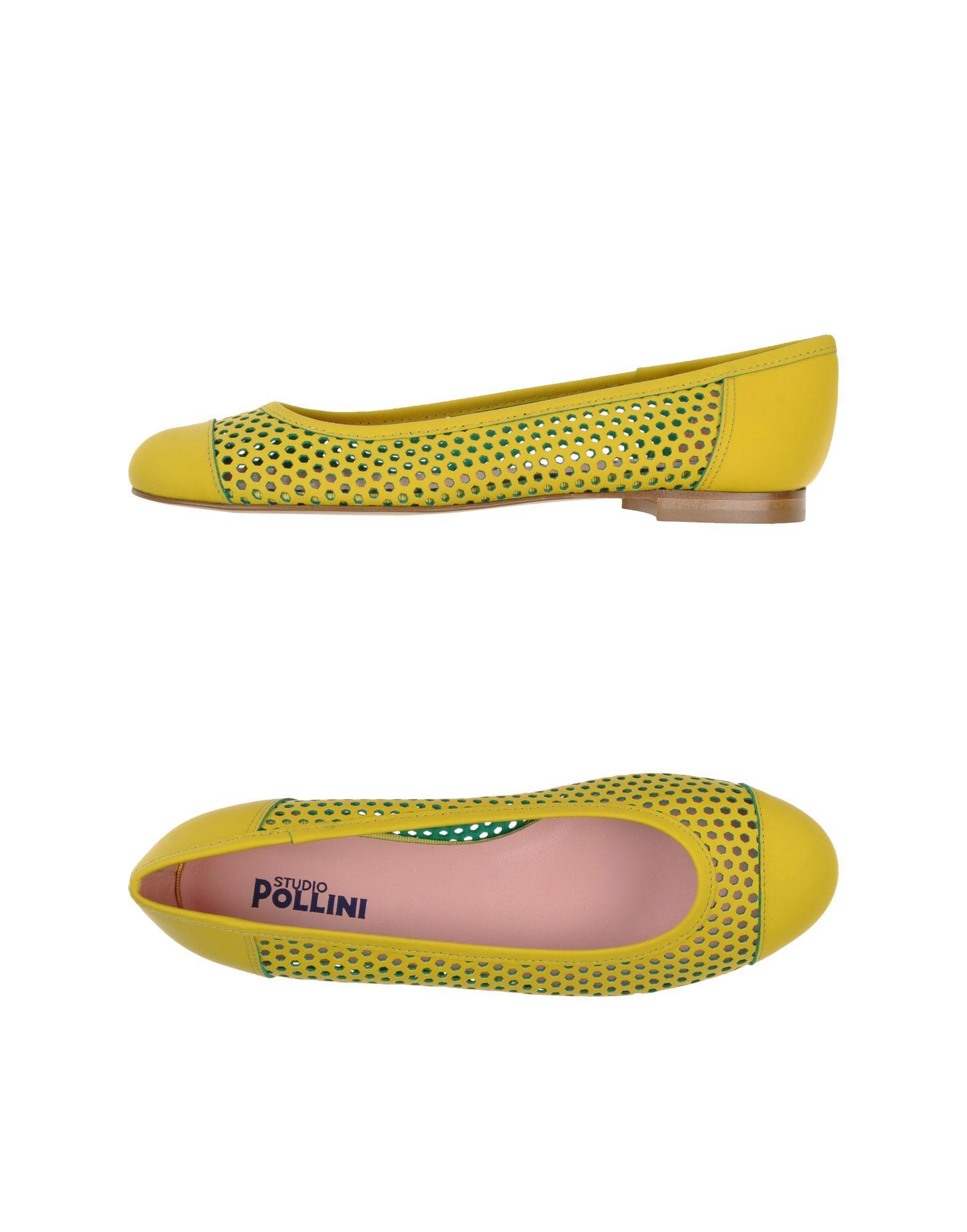 Studio Pollini Ballet Flats Flats Flats - Women Studio Pollini Ballet Flats online on  United Kingdom - 44791533TP 19955f