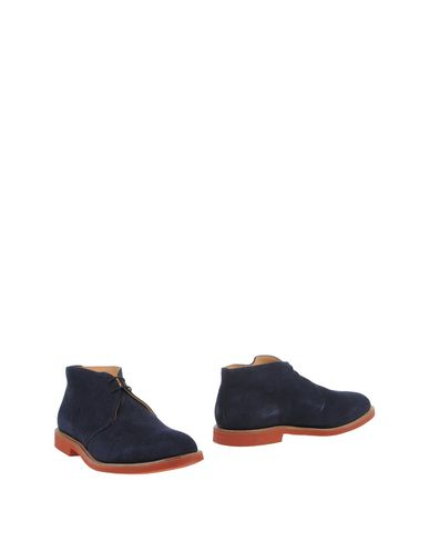 MARK MCNAIRY Boots in Dark Blue