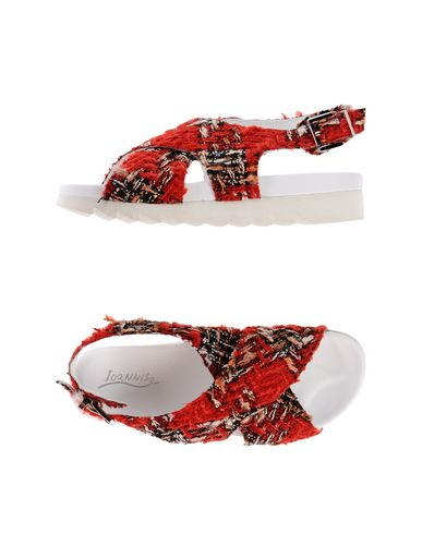 IOANNIS Sandals in Red