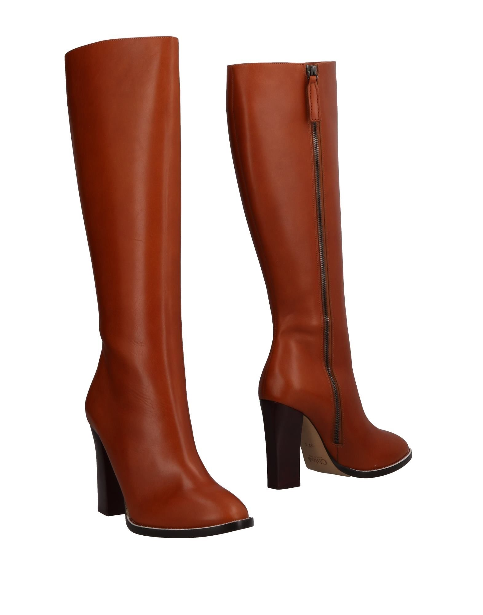 Chloé gut Stiefel Damen  44817340SGGünstige gut Chloé aussehende Schuhe ee4a9f