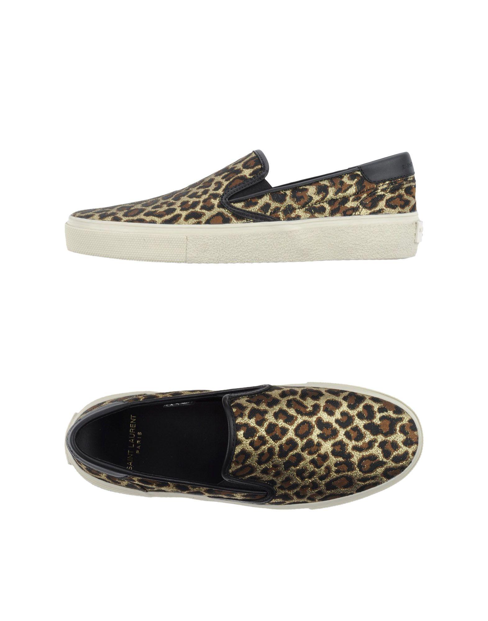 Rabatt Schuhe Saint Laurent  Sneakers Damen  Laurent 44821755MD ac6f91