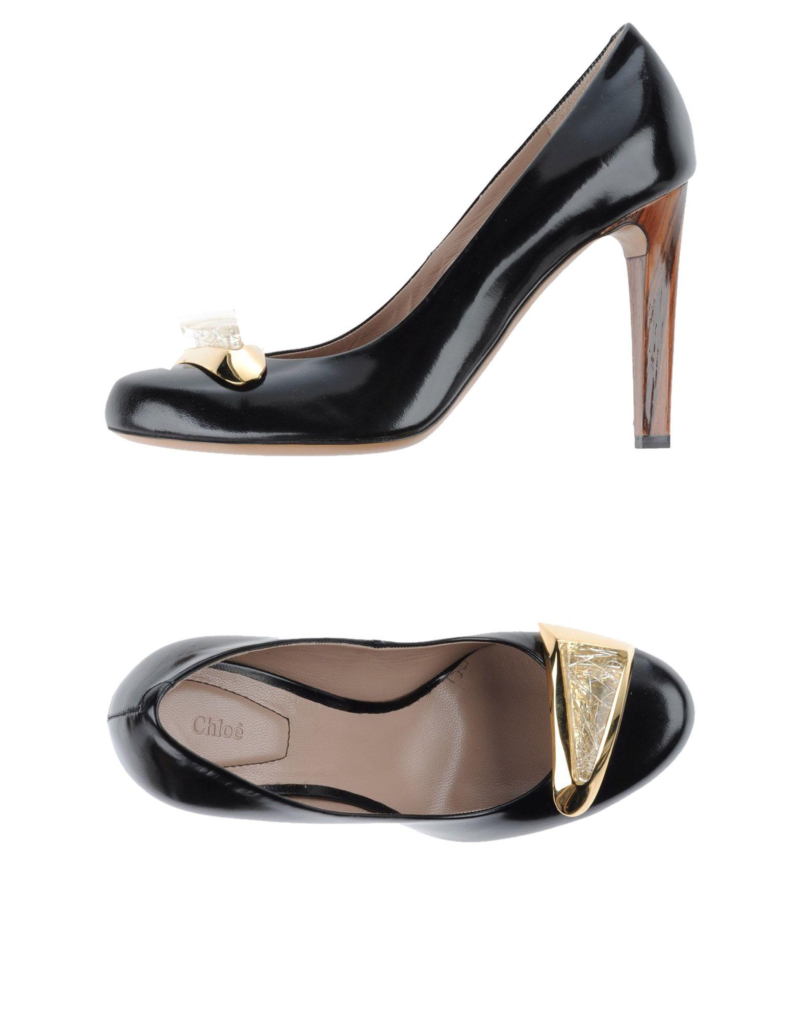 Chloé Pumps Damen  44825842HQGut aussehende strapazierfähige Schuhe