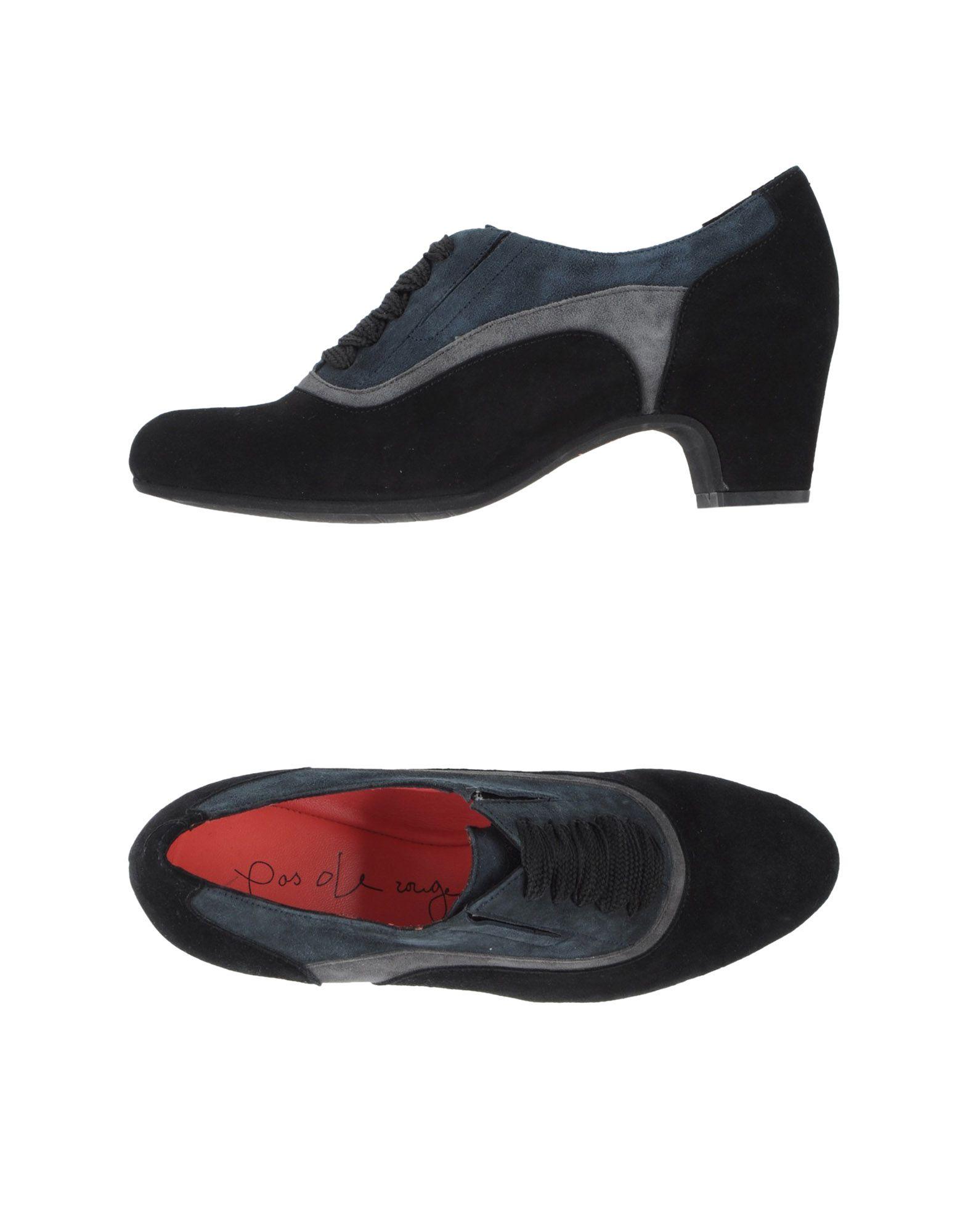 Pas De Rouge Schnürschuhe Damen  44834967LR Neue Schuhe
