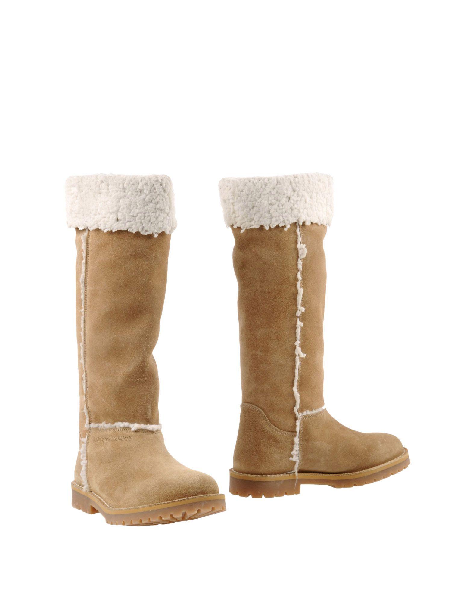 Emporio Armani Stiefel Damen  44846903CEGut aussehende strapazierfähige Schuhe
