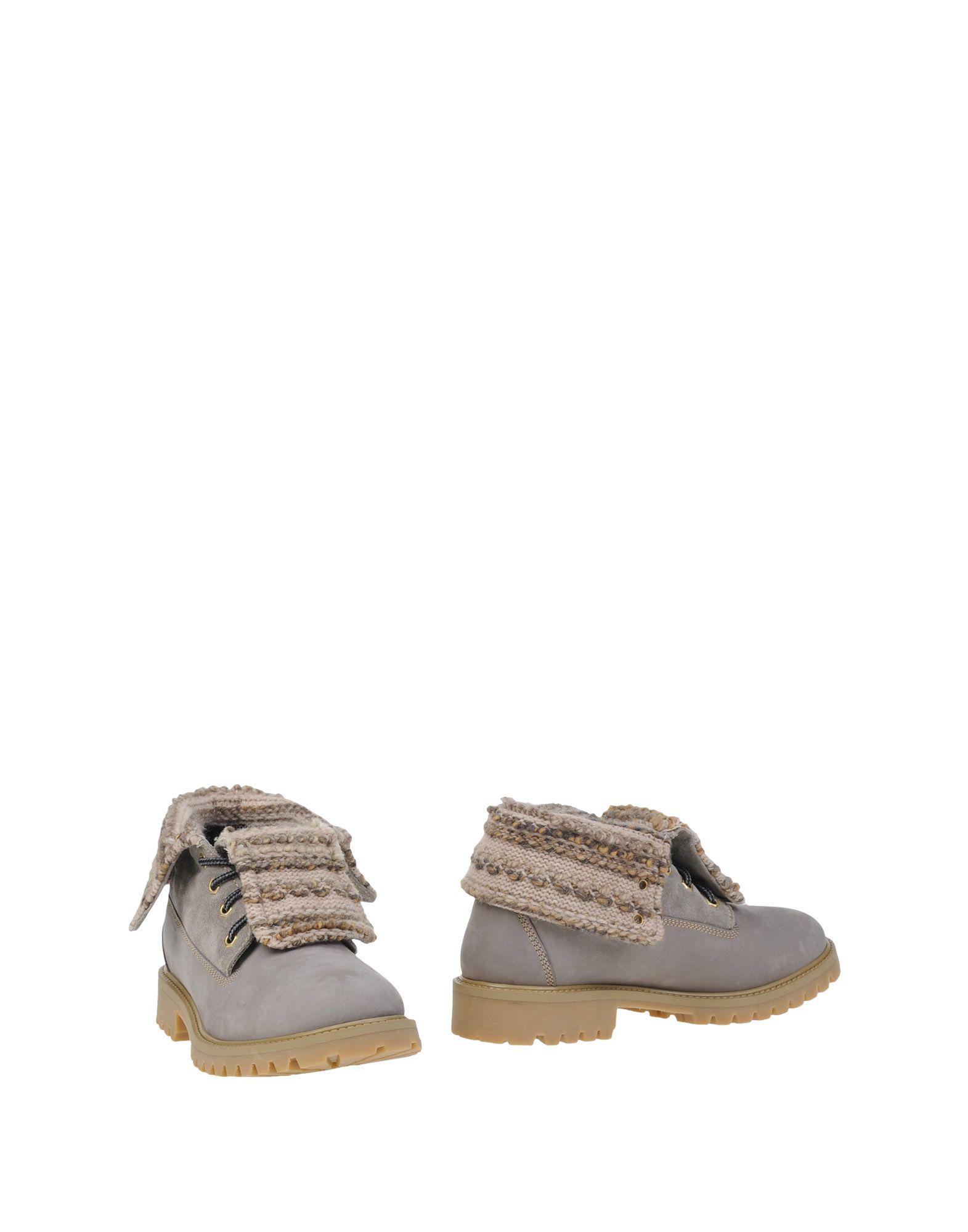 Bottine Grünland Femme - Bottines Grünland Gris Chaussures femme pas cher homme et femme