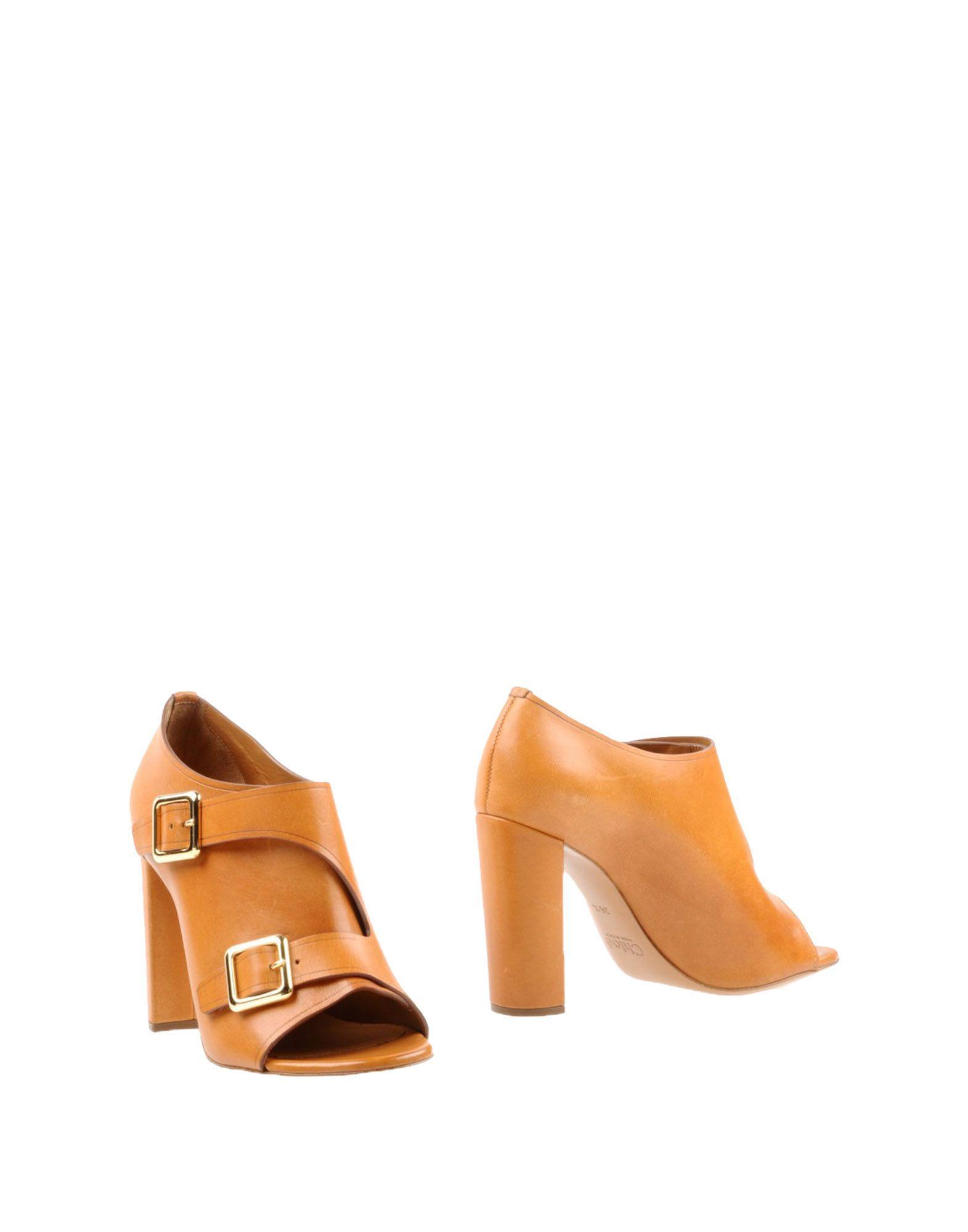 Haltbare Mode billige Schuhe Chloé Stiefelette Damen  44852897PC Heiße Schuhe
