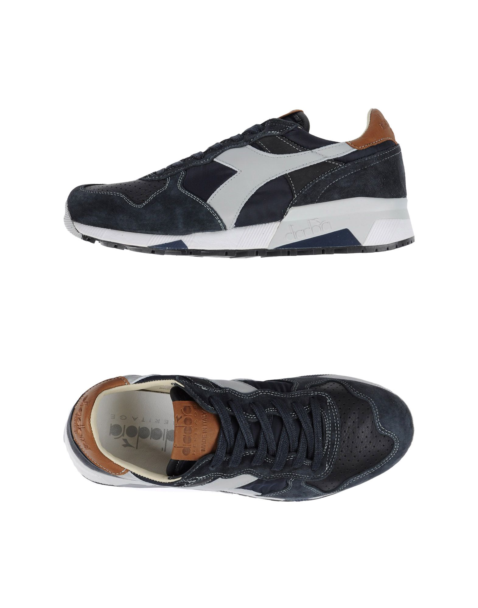 Baskets Diadora Heritage Trident 90 Nyl - Homme - Baskets Diadora Heritage  Bleu foncé Chaussures casual sauvages