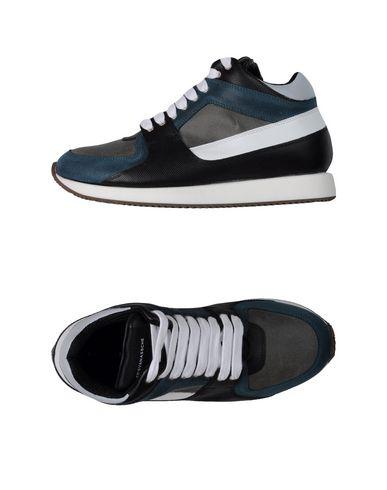 KRIS VAN ASSCHE Sneakers in Slate Blue