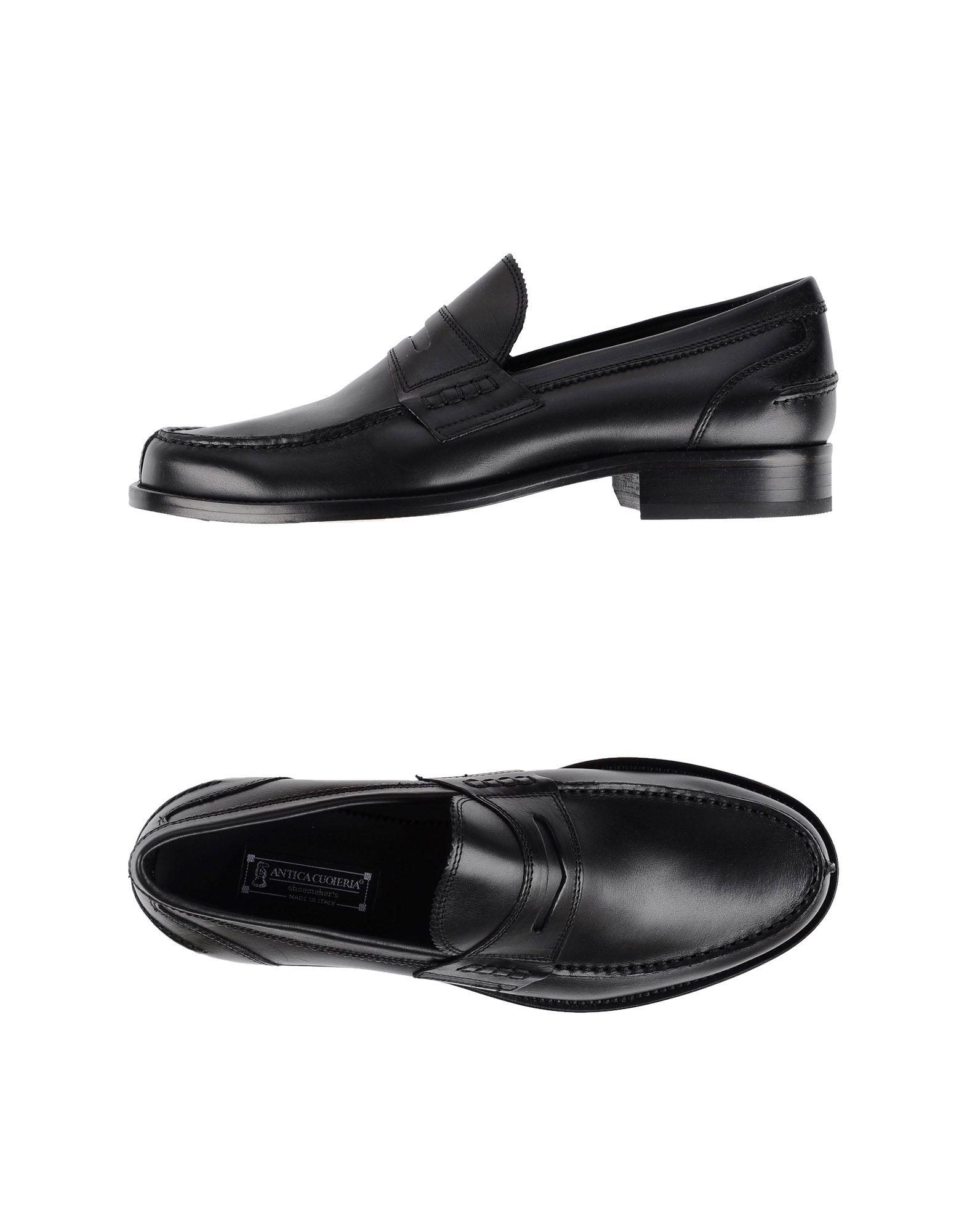 Rabatt echte Mokassins Schuhe Antica Cuoieria Mokassins echte Herren  44881430IB 253907