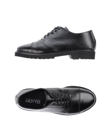 ALEXANDER HOTTO Laced Shoes in Black