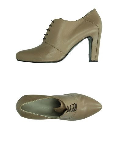 ROBERTO DEL CARLO Laced Shoes in Sand