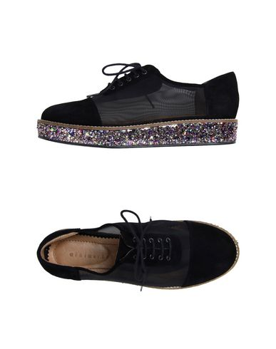 MINIMARKET Laced Shoes in Black