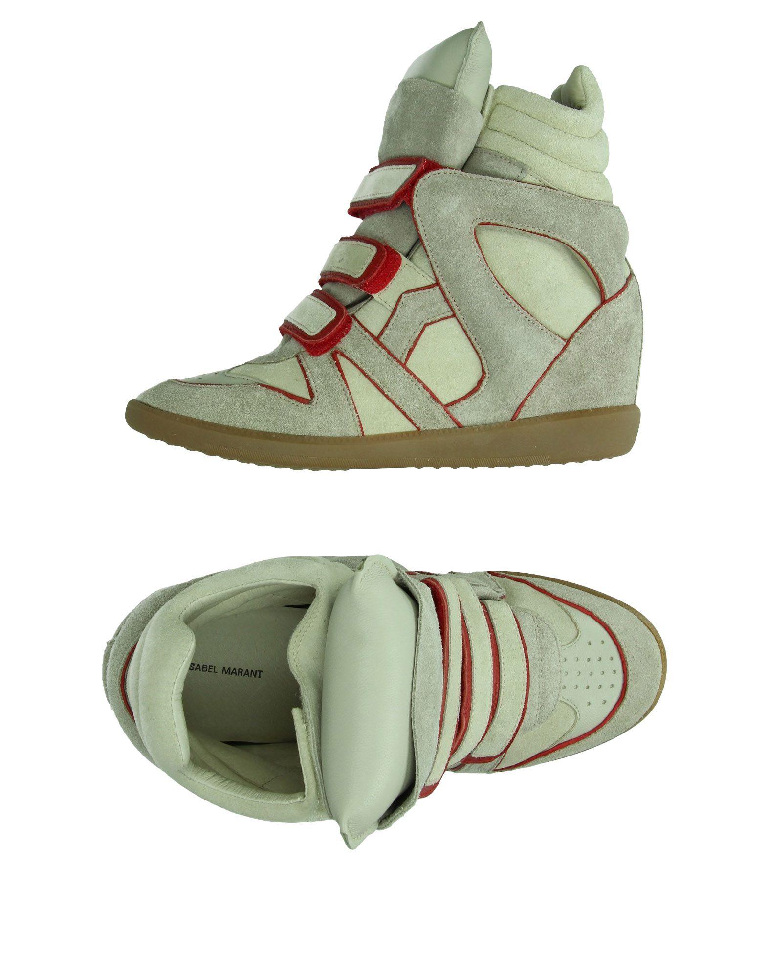 Isabel 44893614AIGünstige Marant Sneakers Damen  44893614AIGünstige Isabel gut aussehende Schuhe 22ea3b