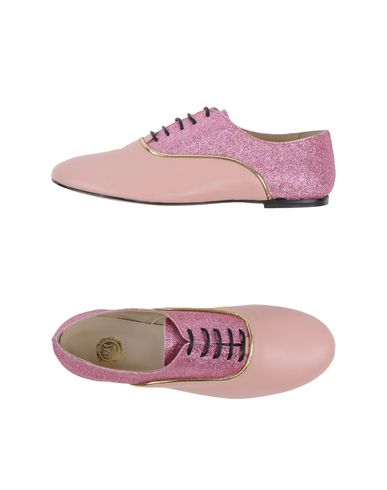 LISA C BIJOUX Laced Shoes in Pink
