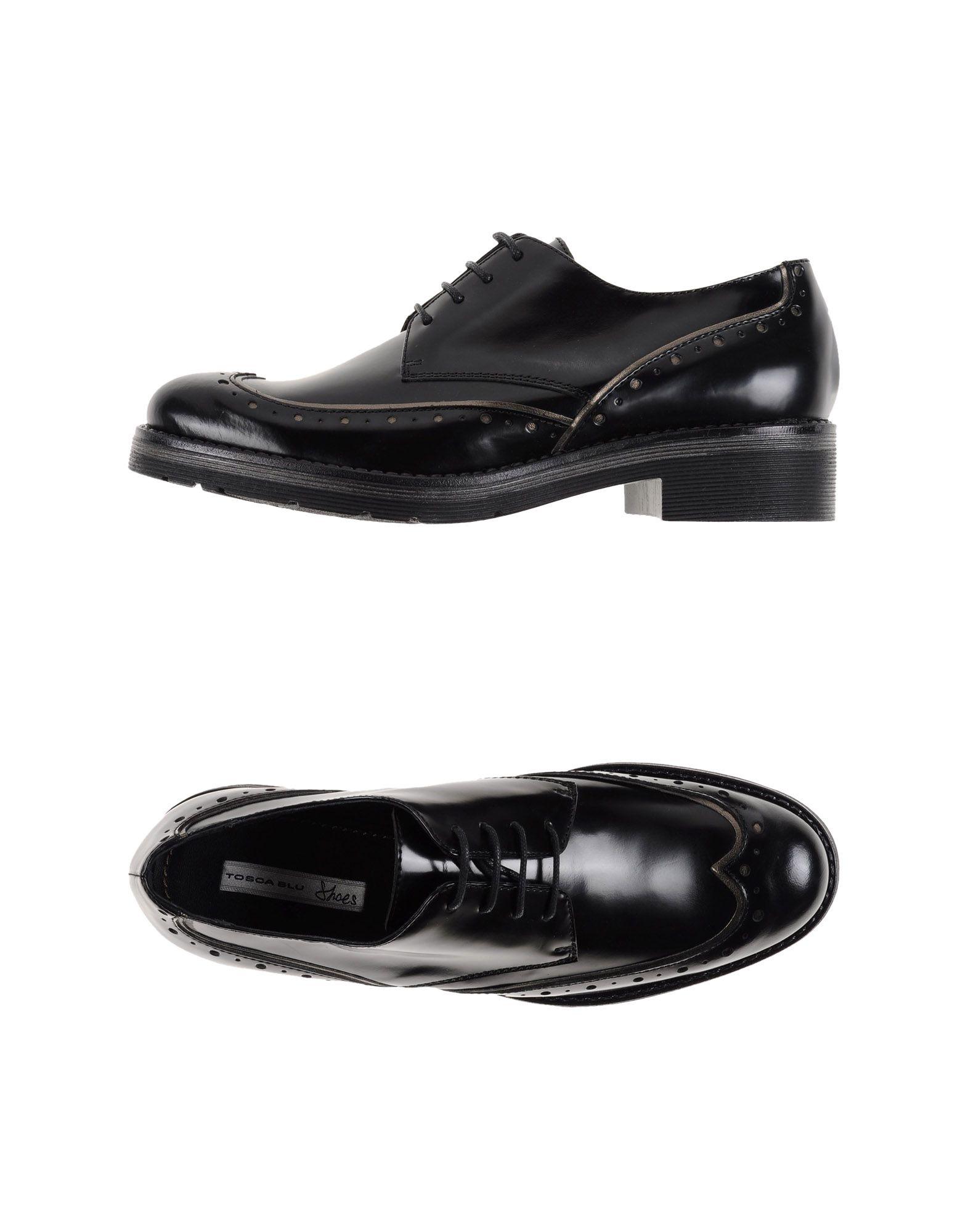 Stilvolle billige Schuhe Schuhe Schuhe Tosca Blu Shoes Schnürschuhe Damen  44906298DI be1cb2