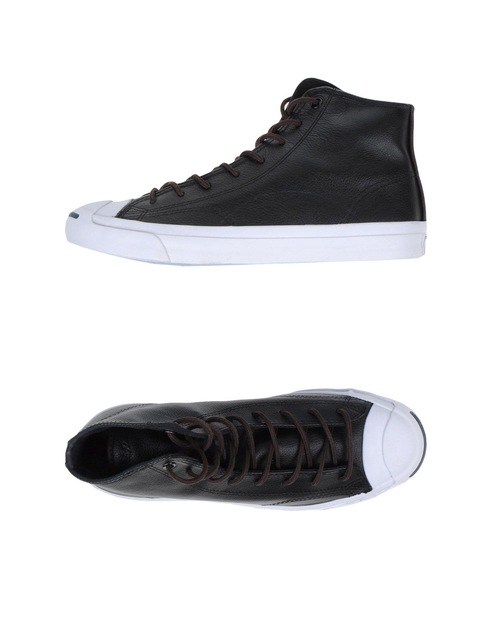 Scarpe Leather da Ginnastica Converse Jack Purcell Ltt Mid Leather Scarpe - Uomo - 44906918CQ dd2943