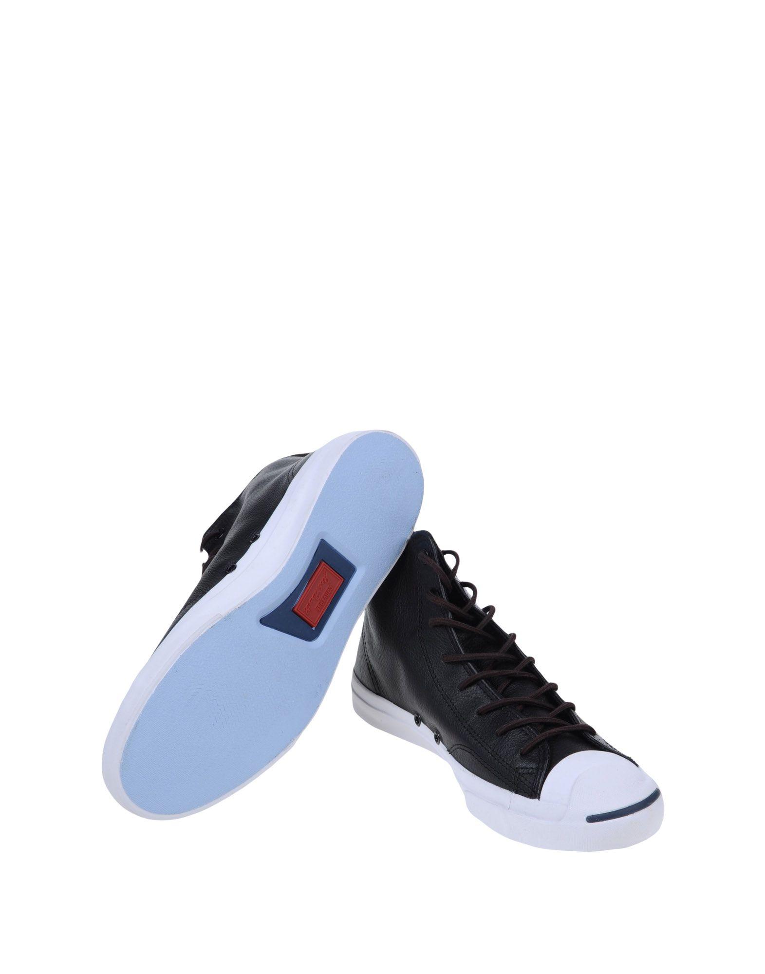 Rabatt echte Schuhe Converse Jack Purcell Ltt Mid Leather  44906918CQ