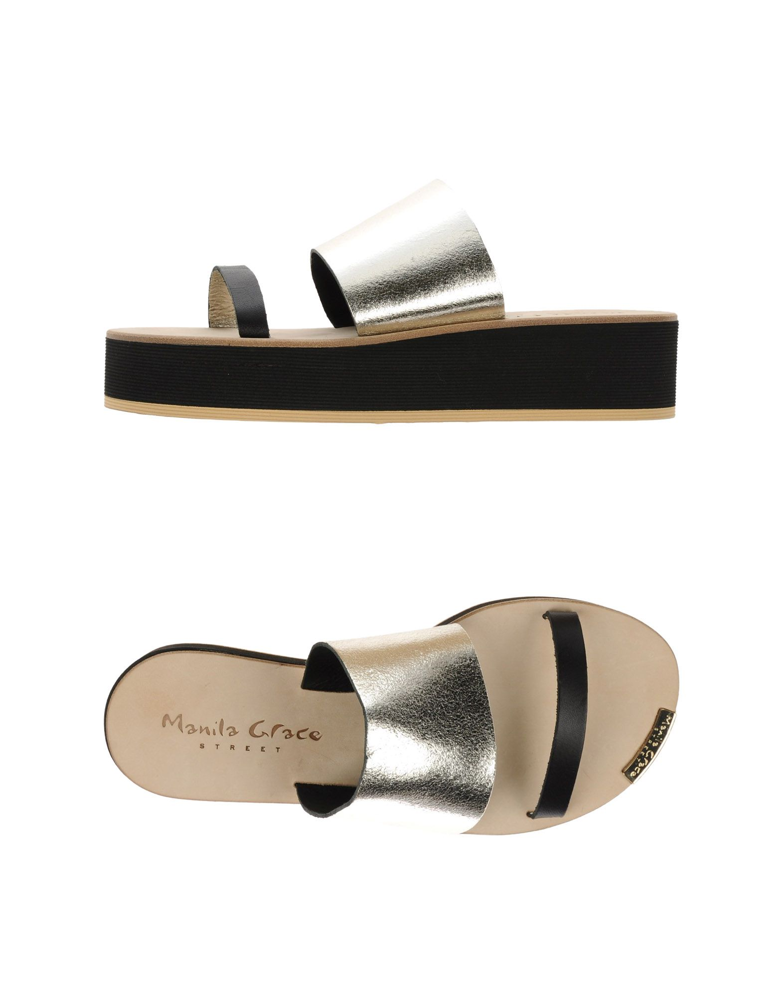 Gut um billige Sandalen Schuhe zu tragenManila Grace Sandalen billige Damen  44913048ET e95385