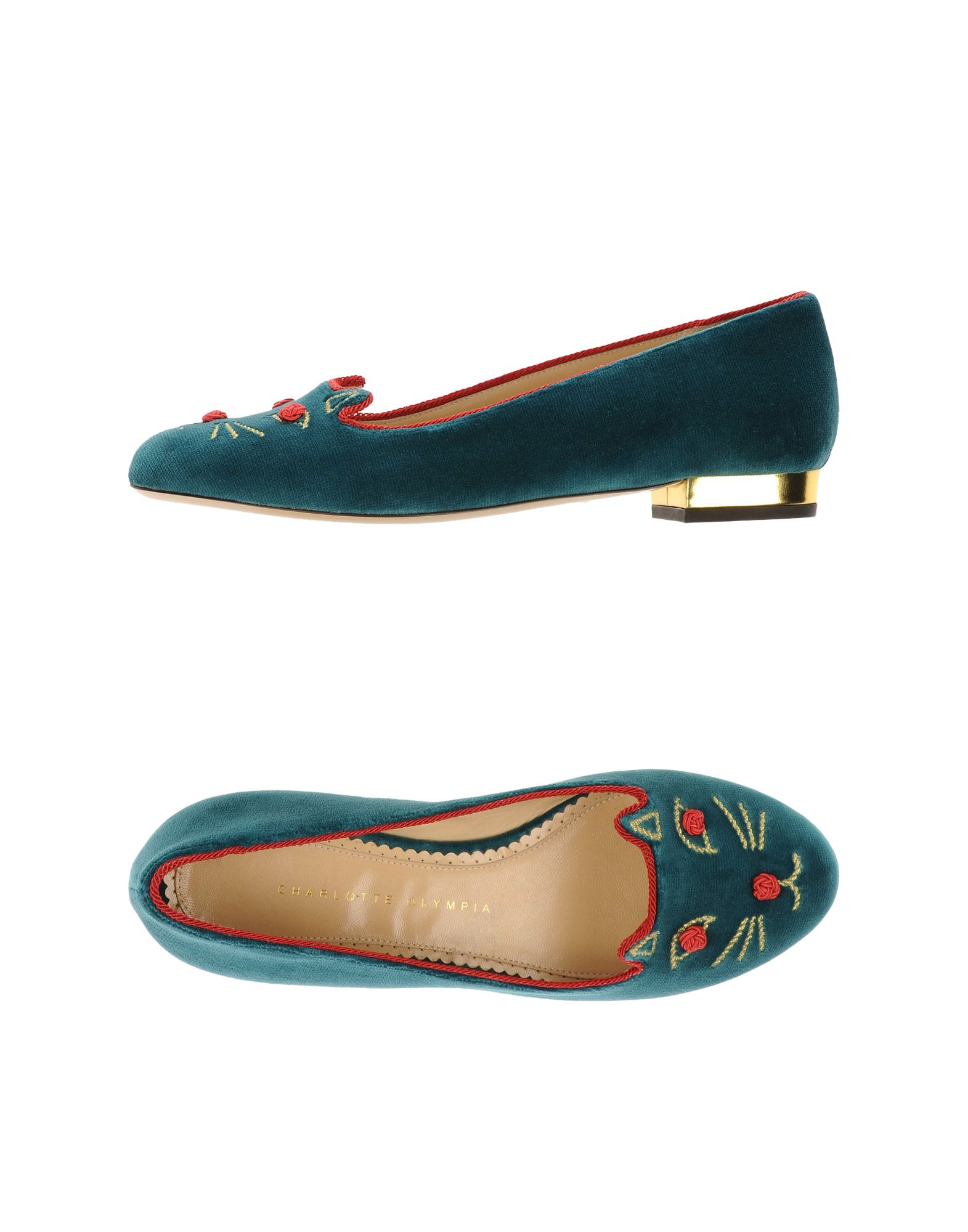 Charlotte Olympia Olympia Olympia Loafers - Women Charlotte Olympia Loafers online on  United Kingdom - 44915712UC 7177f9