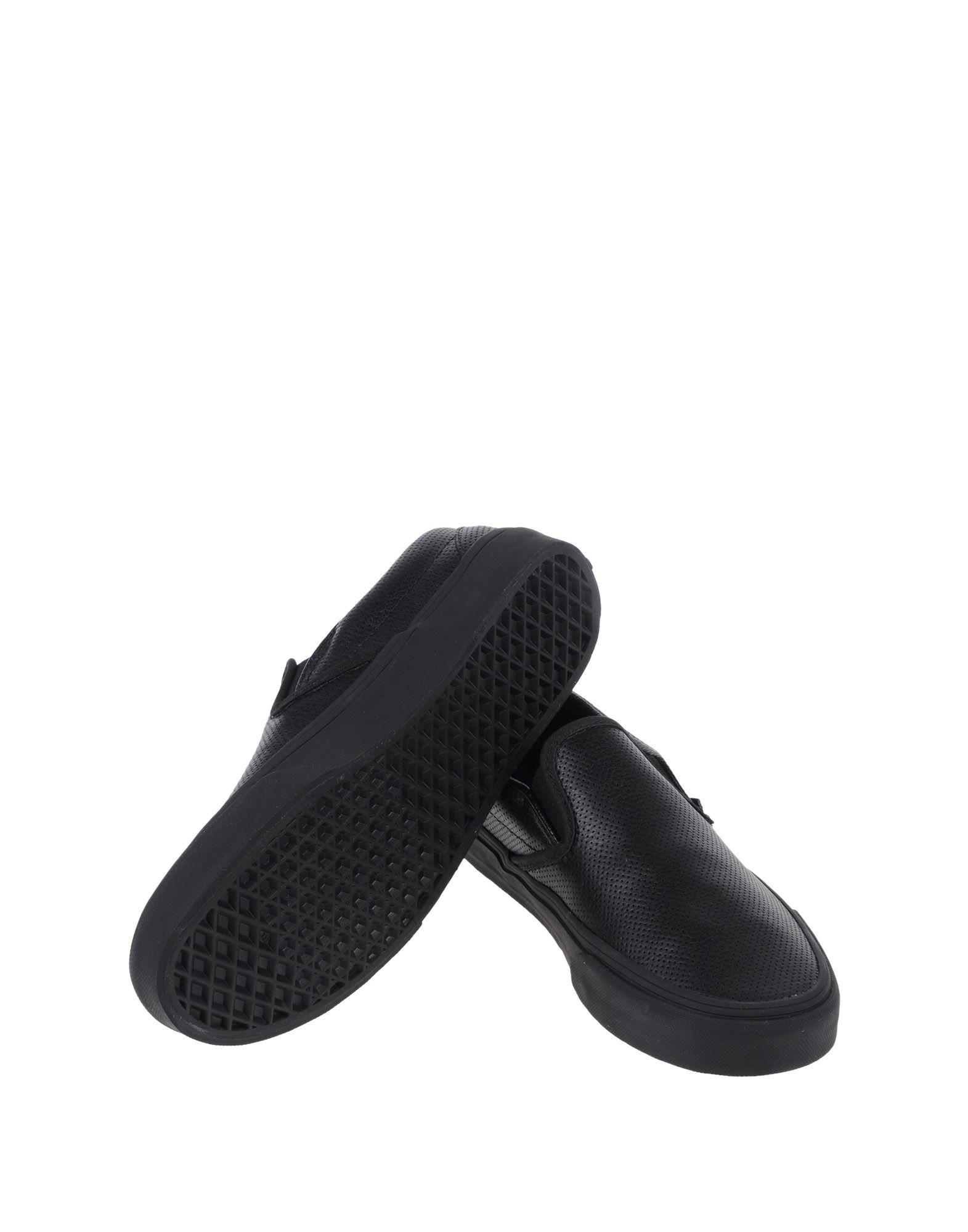 Sneakers Vans U Classic Slip-On (Perf Leather)B - Femme - Sneakers Vans sur