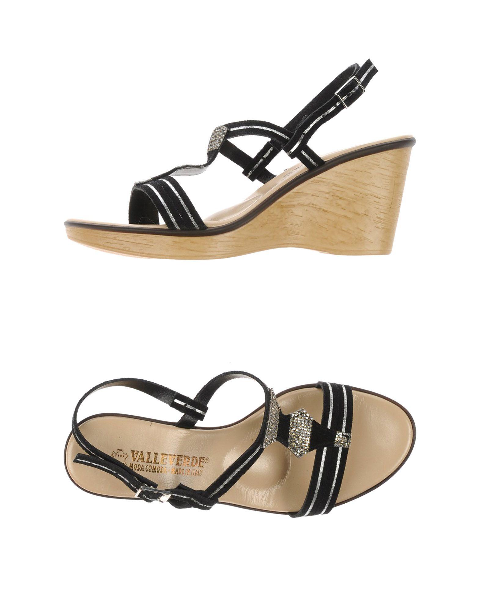 Gut um billige Schuhe zu tragenValleverde Sandalen Damen  44928687AV