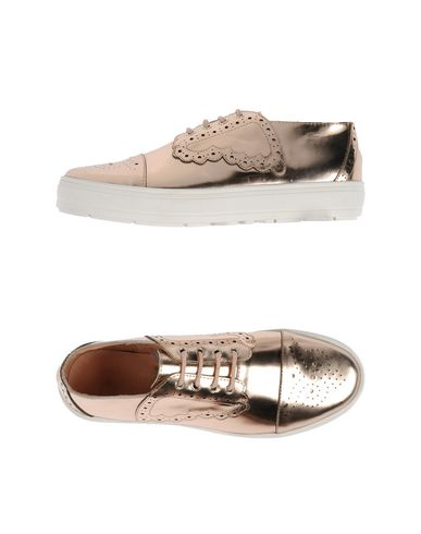 F-TROUPE Laced Shoes in Copper