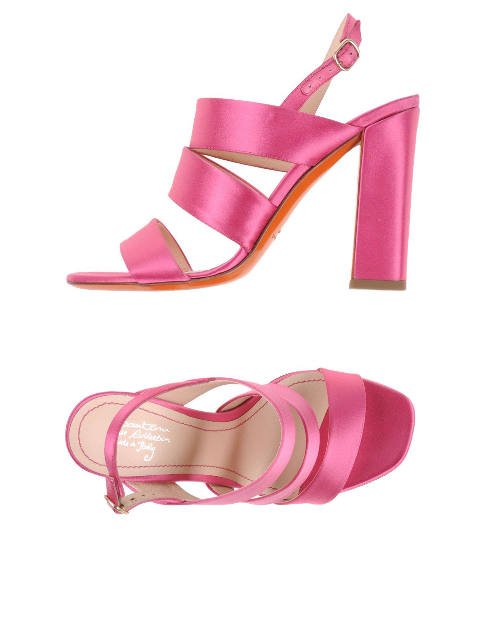 Stilvolle billige Schuhe Santoni Sandalen Damen  44944418IO