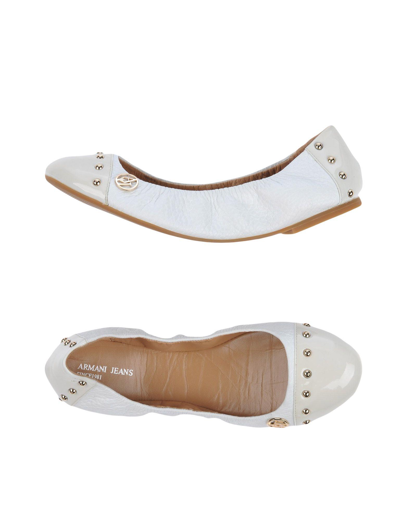 Gut um Jeans billige Schuhe zu tragenArmani Jeans um Ballerinas Damen  44945623OR d25d09