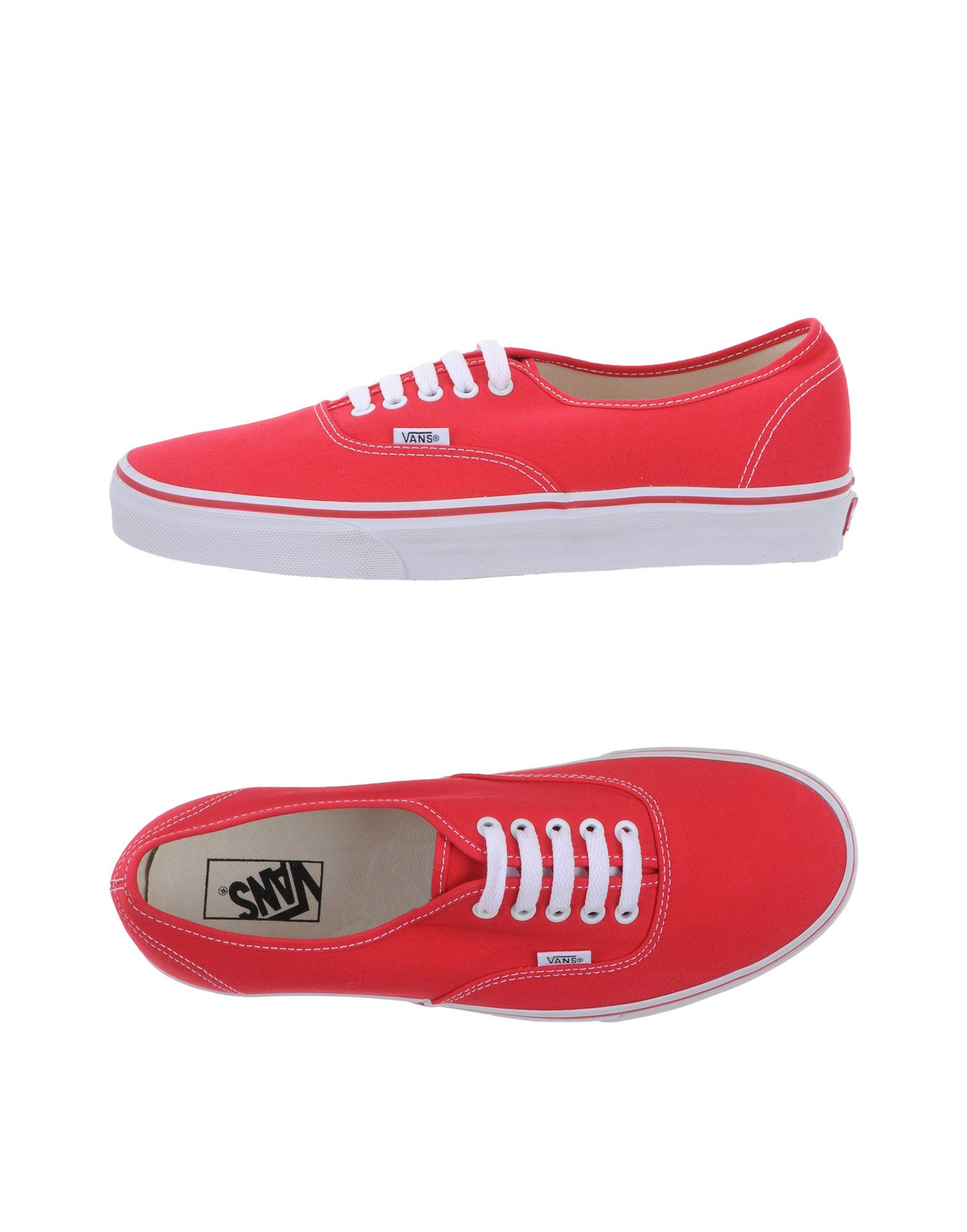 Sneakers Sneakers Sneakers Vans Homme - Sneakers Vans  Rouge Super rabais e1b966