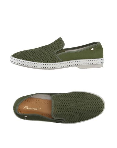 RIVIERAS Espadrilles in Military Green