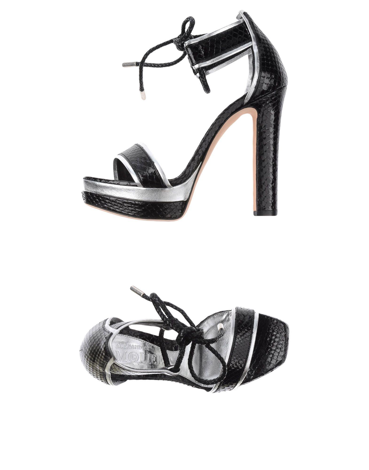 Rabatt Schuhe Alexander Mcqueen Sandalen Damen  44952546AC