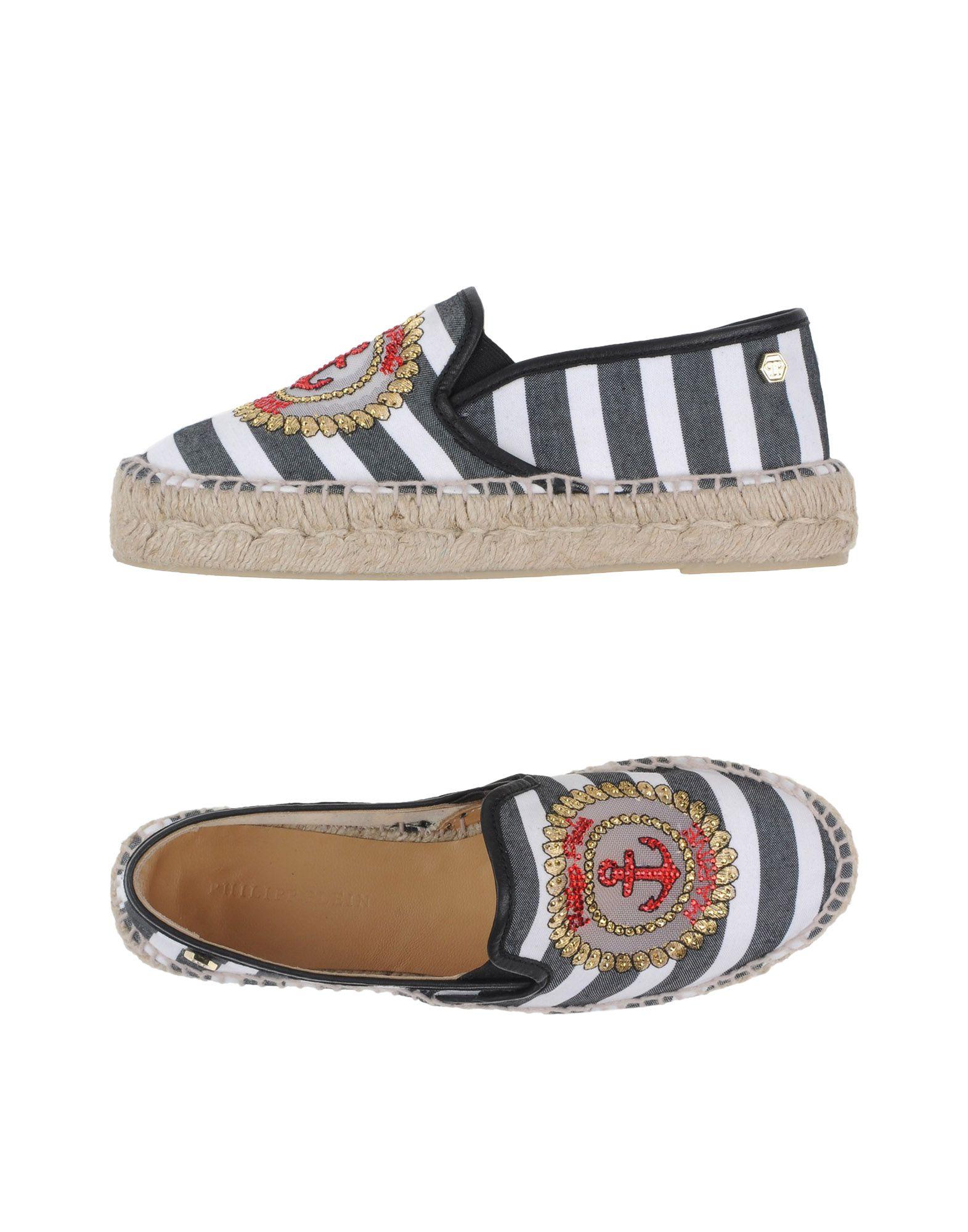 Philipp Plein Espadrilles Damen aussehende  44955769JRGünstige gut aussehende Damen Schuhe 6092dc