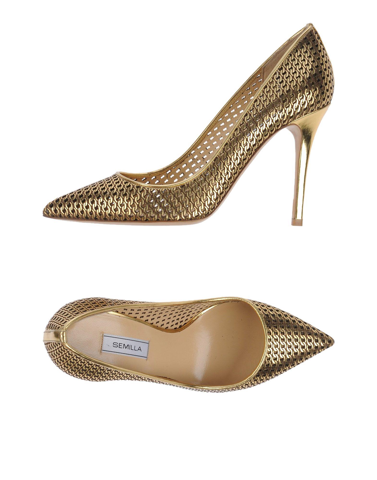 Semilla aussehende Pumps Damen  44960475BLGut aussehende Semilla strapazierfähige Schuhe 0353c6