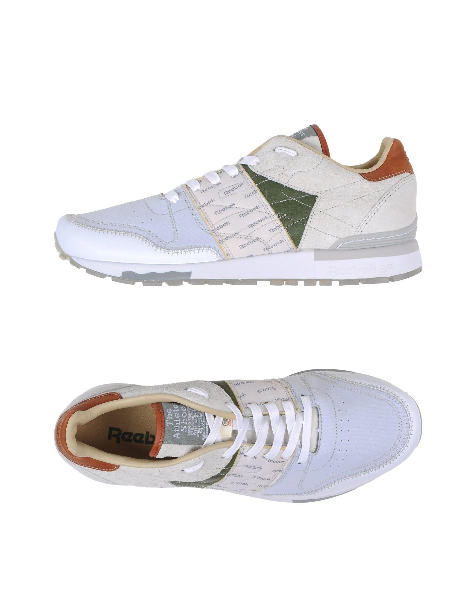 Sneakers Reebok Gs Cl Lthr 6000 Lth - Homme - Sneakers Reebok sur
