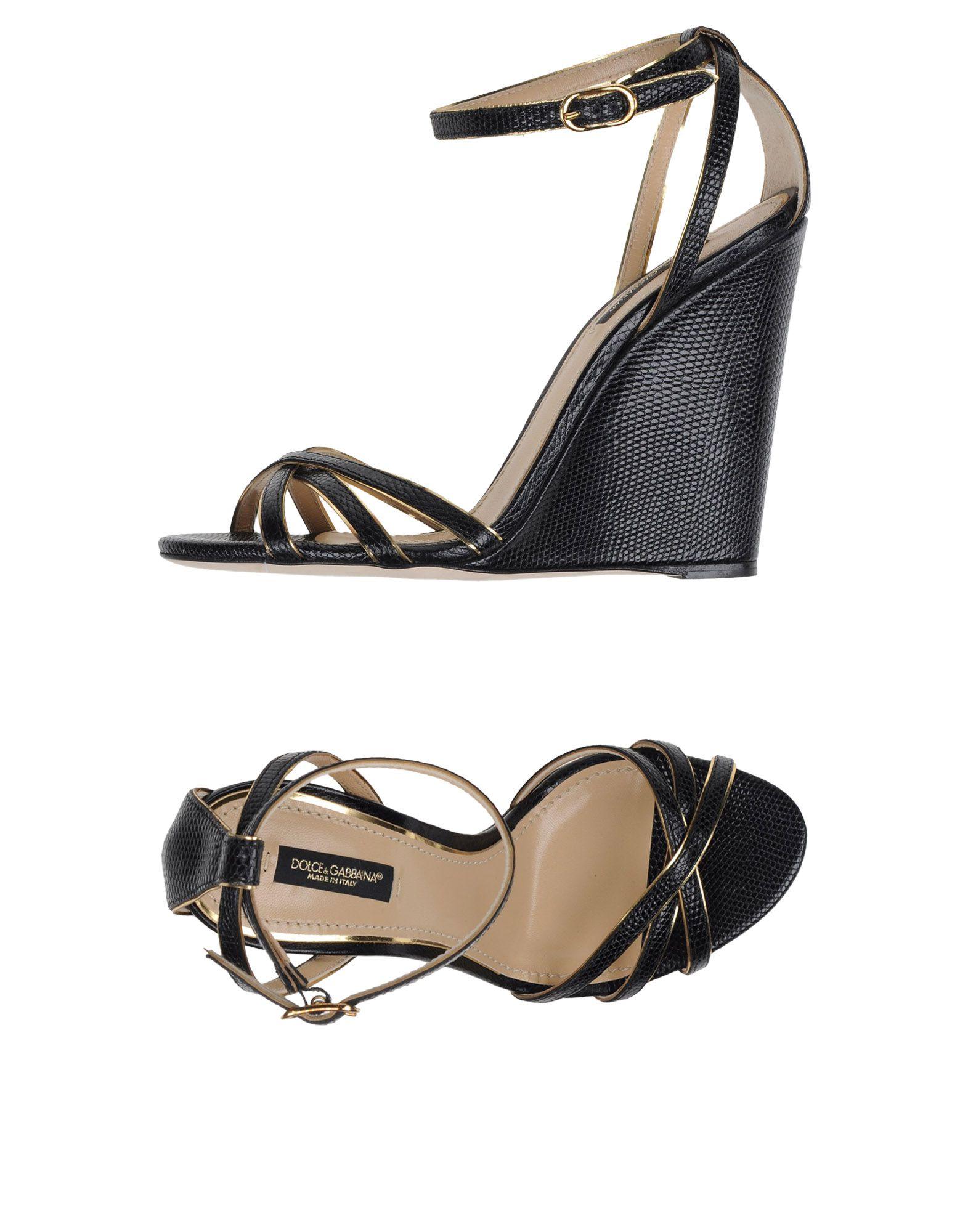 Dolce & Gabbana Sandalen Damen  44964439UOGünstige gut aussehende Schuhe