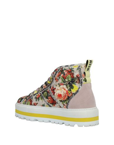 Tourterelle Sneakers Msgm Sneakers Msgm Gris z08x6n