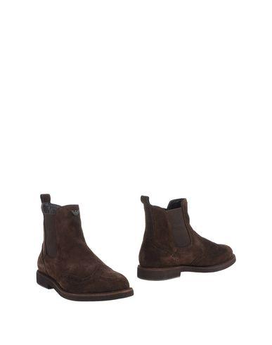 Zapatos especiales para hombres y mujeres Botín Armani Jeans Hombre - - Botines Armani Jeans - Hombre 44981068UI Café fbf95d