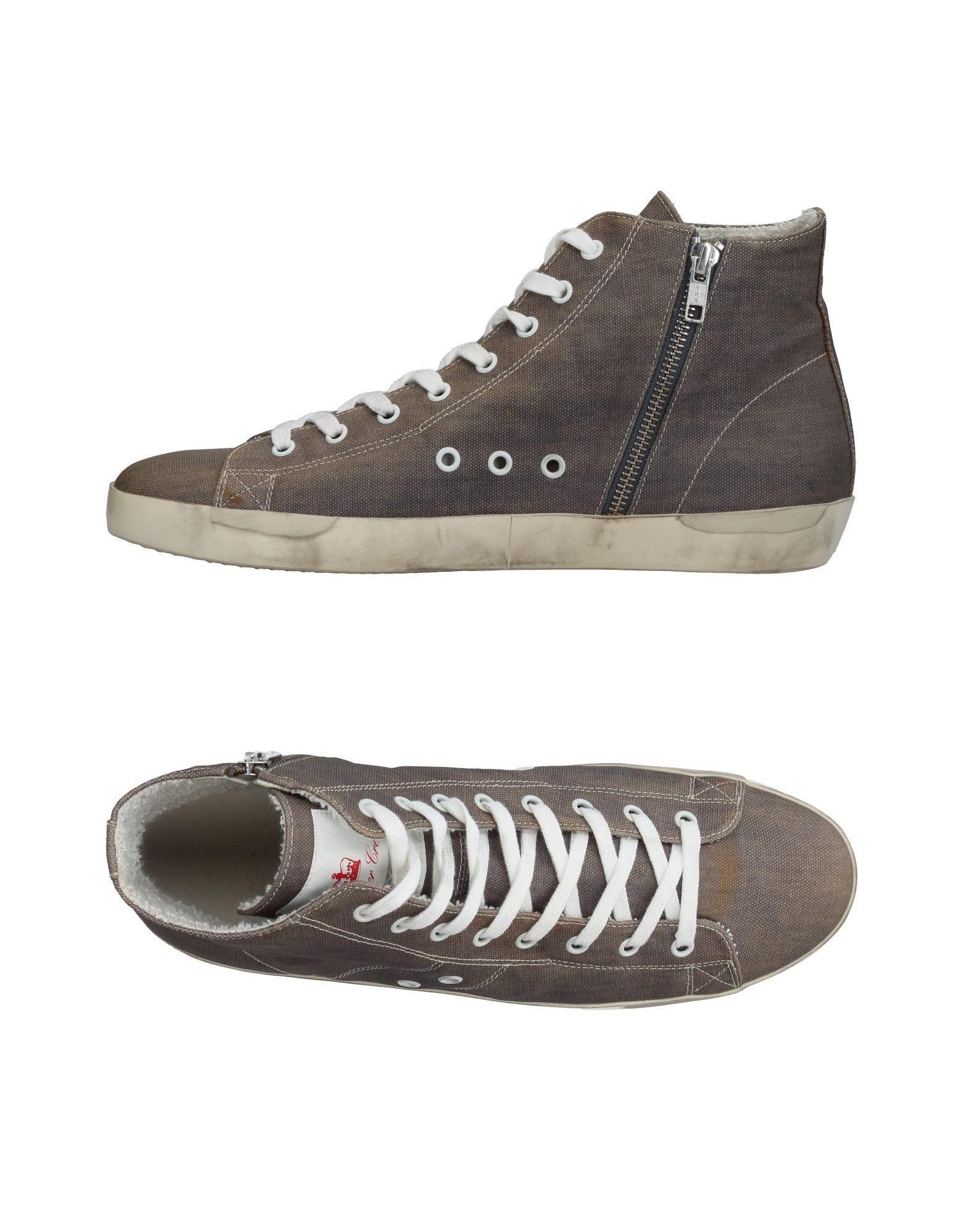 Leather Crown Sneakers Herren  44982036KE Neue Schuhe