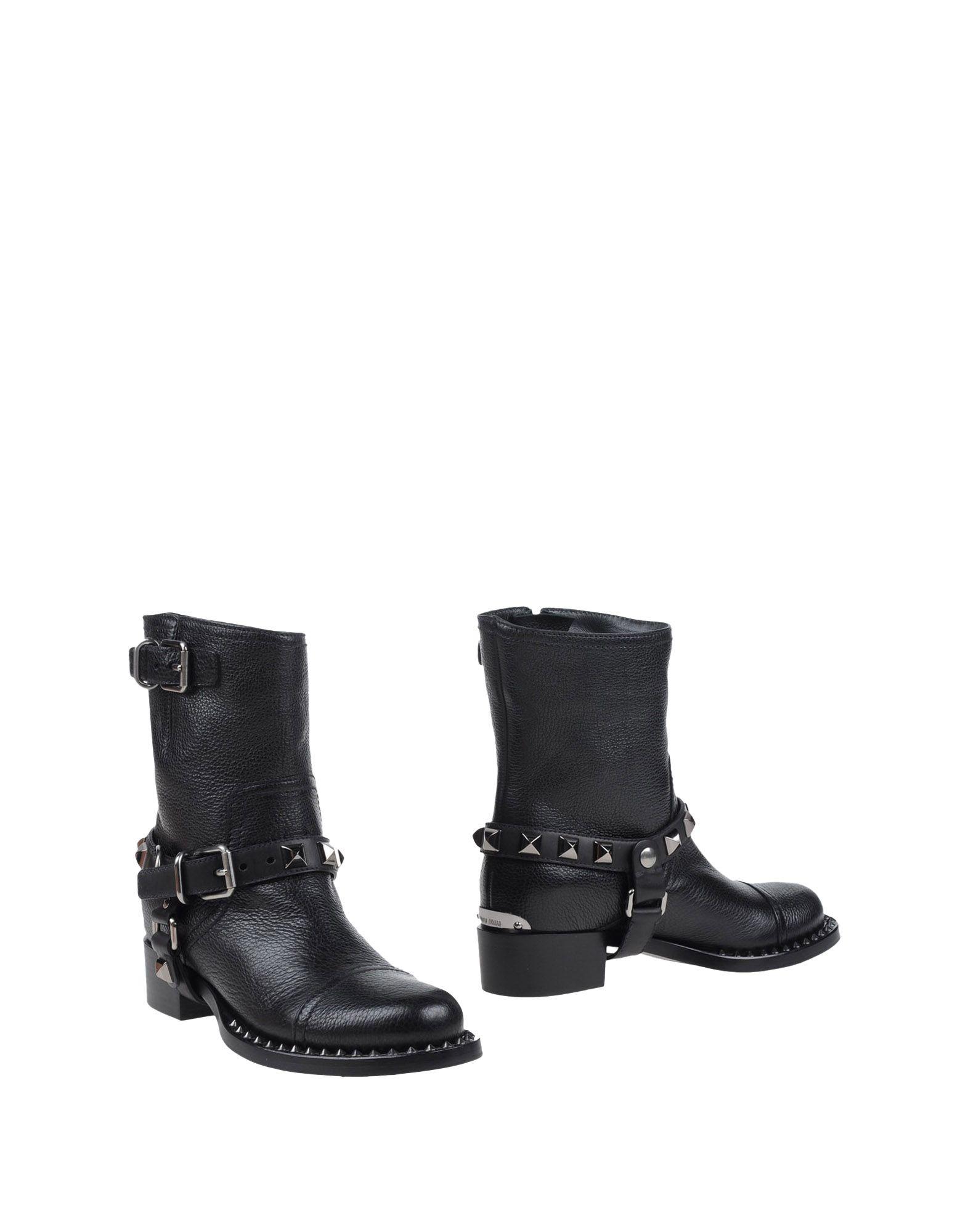 Miu Miu Ankle Boot - Women Miu Miu  Ankle Boots online on  Miu United Kingdom - 44984987SF 7adb8d