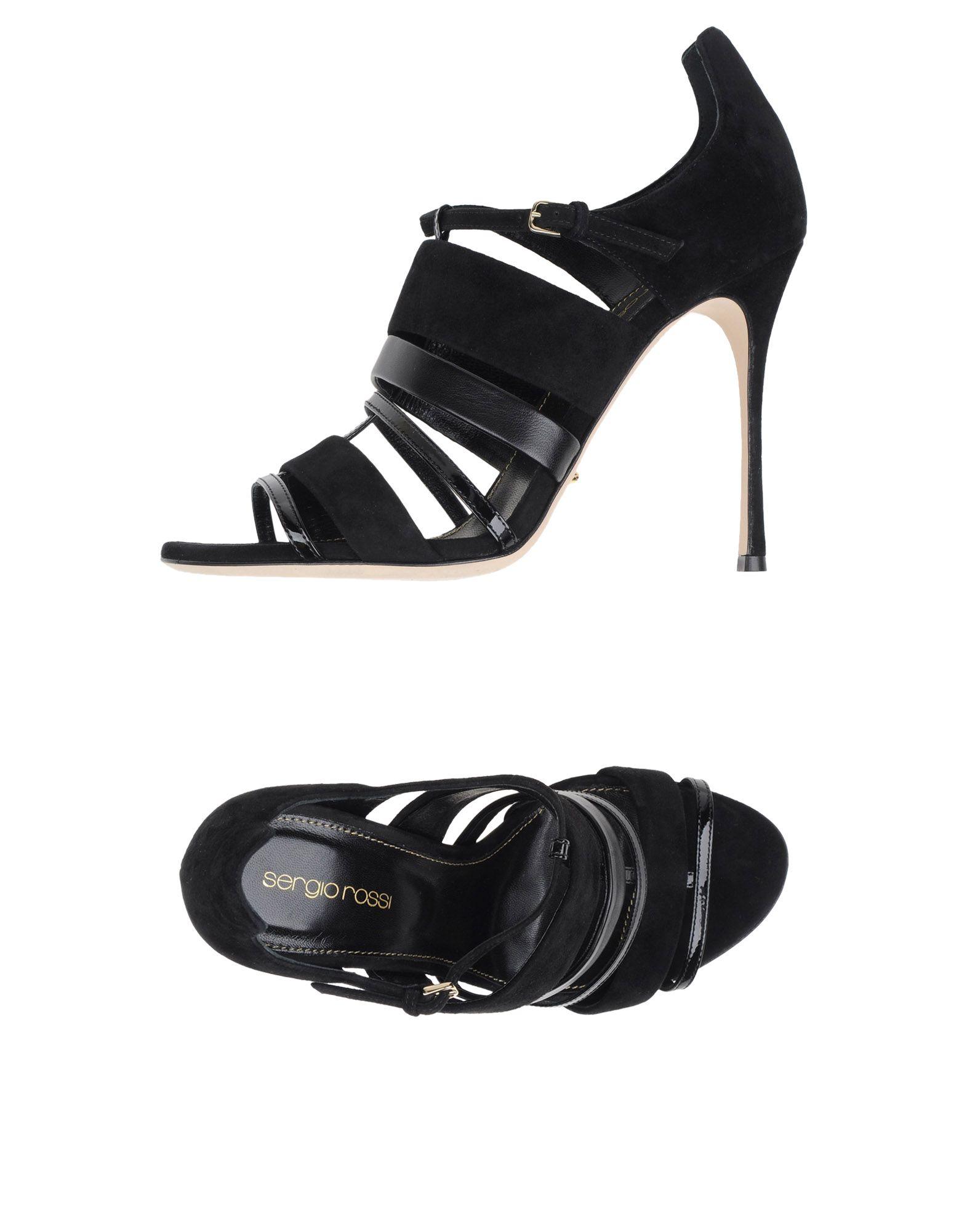 Sergio Rossi Sandalen Damen  Schuhe 44986639DJGünstige gut aussehende Schuhe  970f00