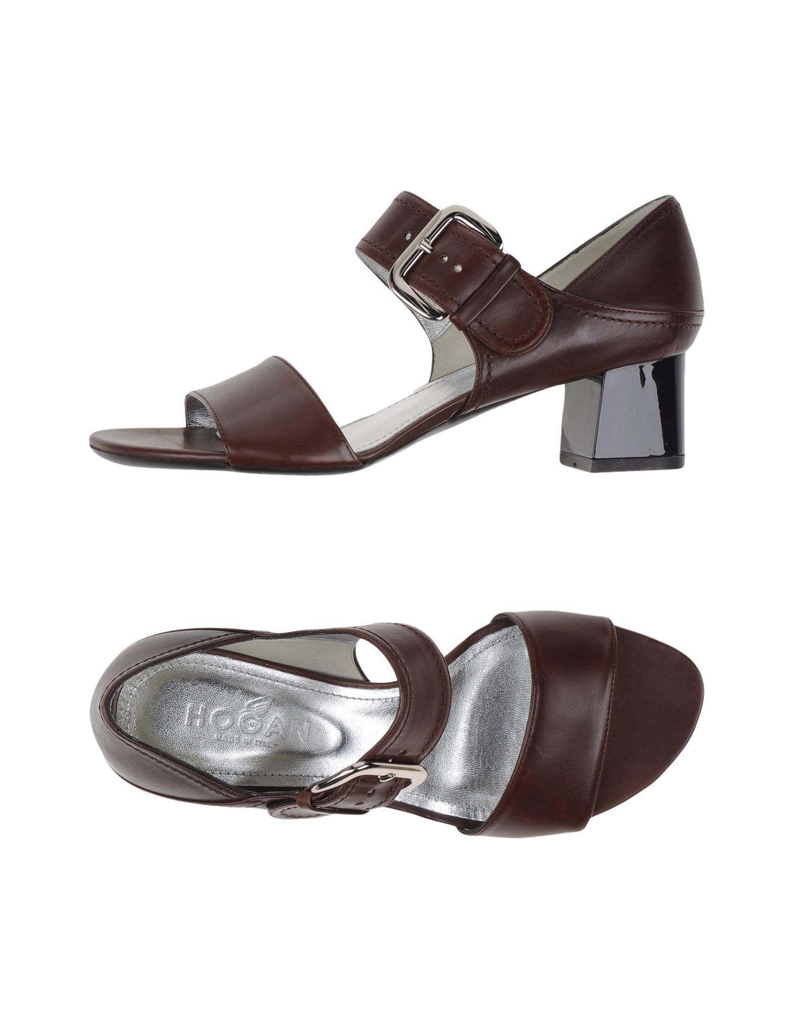 Stilvolle billige Schuhe Hogan Sandalen Damen  44987500IW